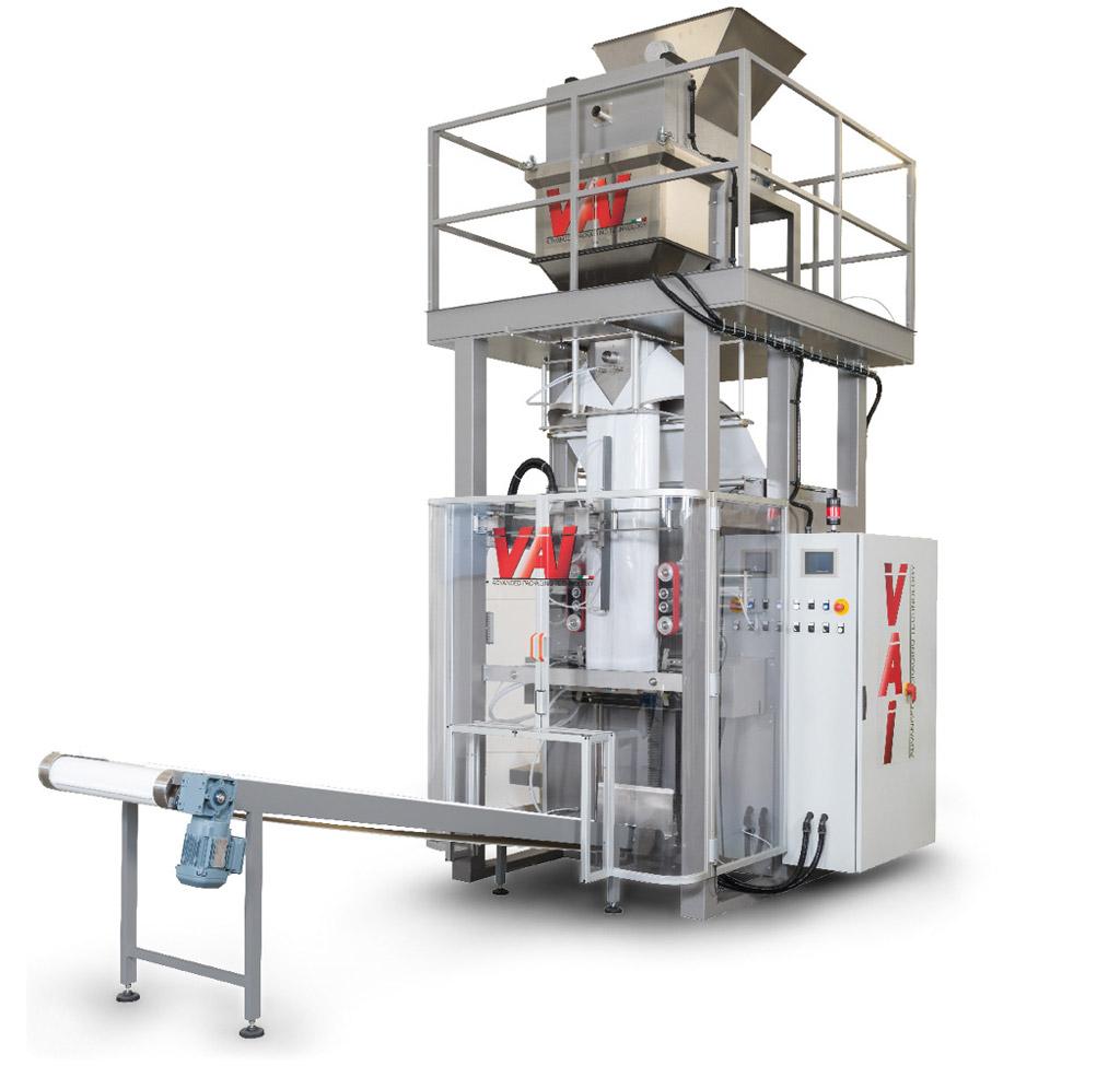 Confezionatrice verticale usata per pasta corta e prodotti granulari